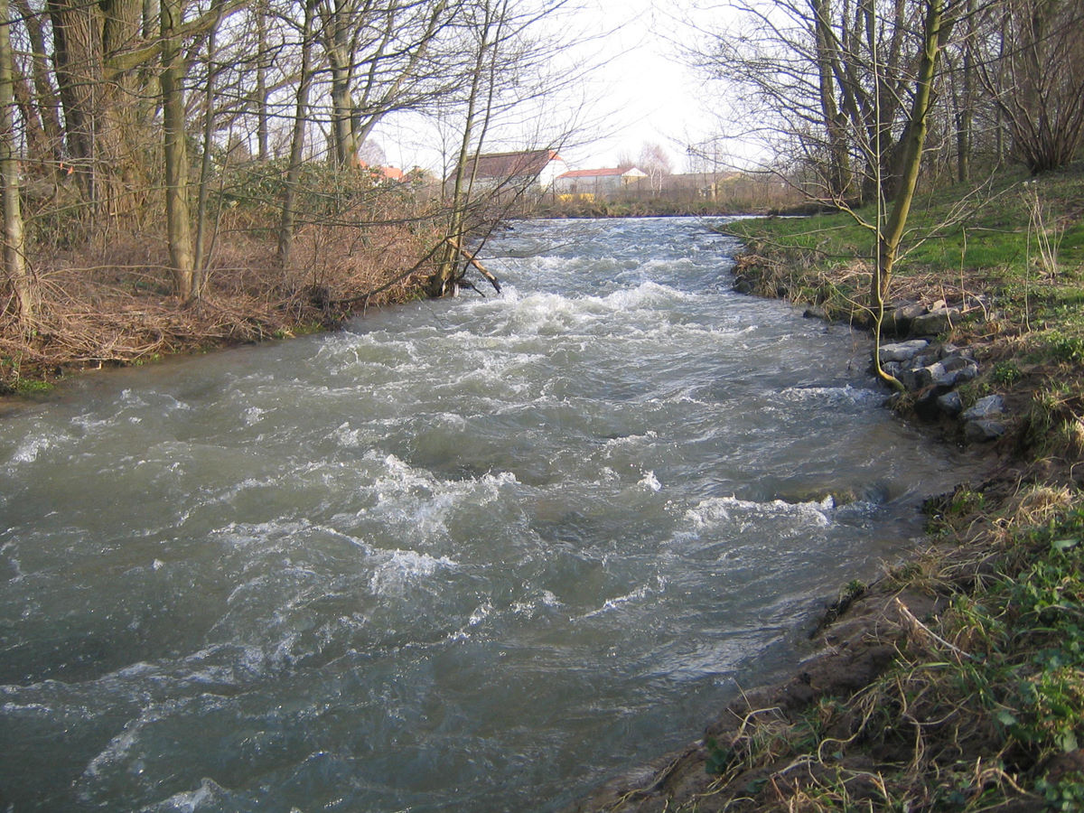 Wasserkreuz - sog. Umfluter 2007