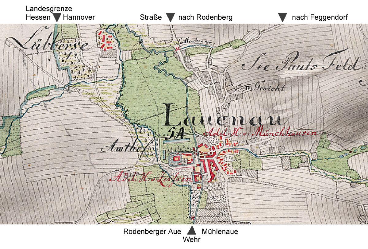 Kurhannoversche Landesaufnahme von 1782